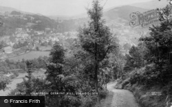 Llangollen, View From Geraint Hill c.1890