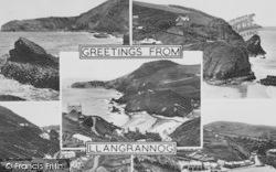 Llangrannog, Composite c.1955