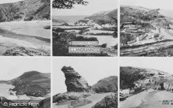 Llangrannog, Composite c.1960