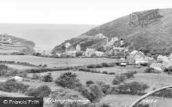 Llangrannog, General View c.1955