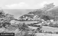 Llangrannog, General View c.1960