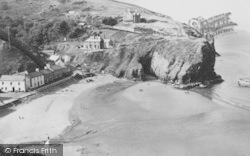 Llangrannog, The Beach c.1960