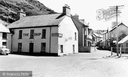 Llangrannog, The Ship Inn c.1960