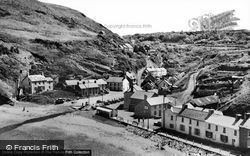 Llangrannog, The Village c.1955