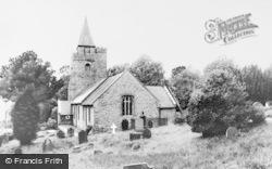Llangurig, The Church c.1960