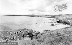 Beach And Headland c.1960, Llangwnnadl
