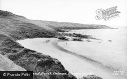 Penllech Beach And Porth Colmon c.1955, Llangwnnadl