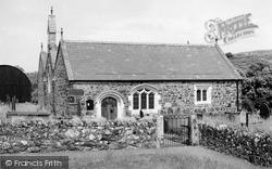 St Gwynhoedl Church c.1955, Llangwnnadl