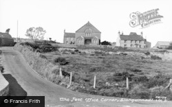 Llangwnnadl, The Post Office Corner c.1955