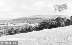 Llangynidr, Black Mountains c.1965