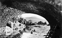 Llangynidr, The Canal And Tor Y Foel c.1960