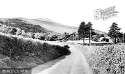 Llangynidr, Tor Y Foel From The Cwm c.1965