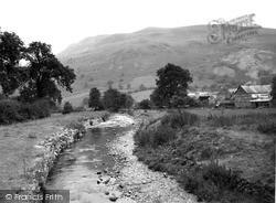 Cyrniau Mountain c.1960, Llangynog