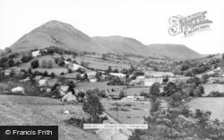 General View c.1965, Llangynog