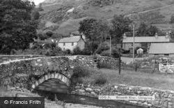 Rhiwarth River c.1960, Llangynog