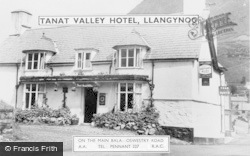 Tanat Valley Hotel c.1960, Llangynog