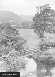 The River Tanat c.1960, Llangynog