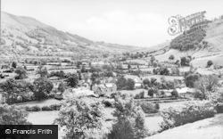 The Tanat Valley c.1960, Llangynog