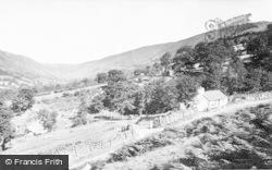 View From Bala Road c.1960, Llangynog