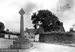Llangynwyd, Cefn-Ydfa, Ann Thomas's Memorial 1937