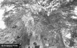 Llangynwyd, Cefn-Ydfa Ruins 1937