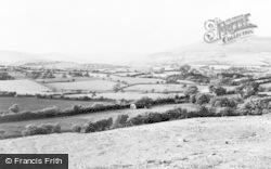 Llangynwyd, General View c.1960