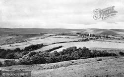 Llangynwyd, General View Showing St Cynwyd's Church c.1960
