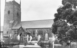 Llangynwyd, St Cynwyd's Church 1927