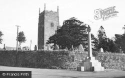 Llangynwyd, St Cynwyd's Church c.1960