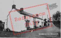 Llangynwyd, The Corner House c.1955