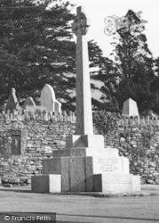 Llangynwyd, The Memorial c.1960