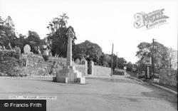 Llangynwyd, The Square c.1955