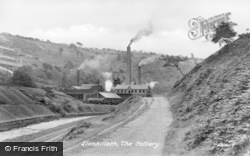 Llanhilleth, The Colliery c.1955