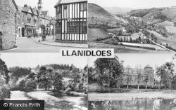 Llanidloes, Composite c.1955