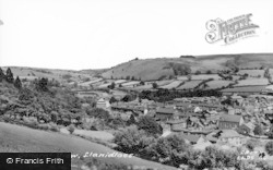 Llanidloes, General View c.1965