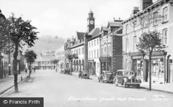 Llanidloes, Great Oak Street c.1955