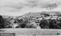 Llanidloes, Long Bridge And Severn Valley c.1965