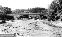 Llanidloes, Long Bridge c.1965