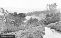 Llanidloes, View From Penrallt c.1960