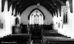 Church Interior c.1960, Llanilar