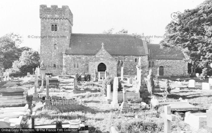 Photo of Llanilid, Church c.1960