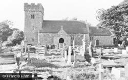 Church c.1960, Llanilid