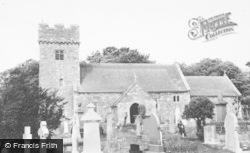 The Church c.1960, Llanilid