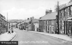 Llanllyfni, The Main Road c.1955