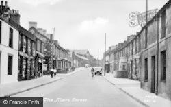 Llanllyfni, The Main Street c.1955