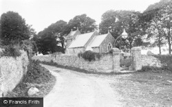 Llanmadog, St Madoc's Church c.1935