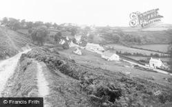 Llanmadog, Village c.1935