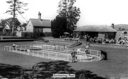 Llanerch-Y-Mor, Swimming Pool c1955