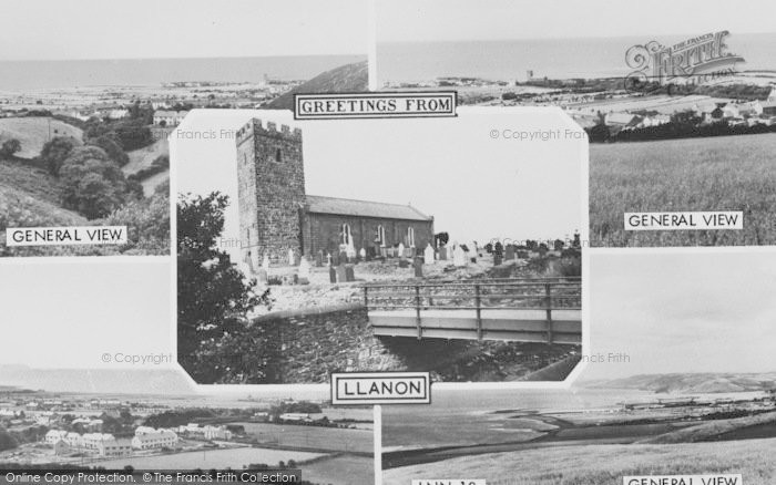 Photo of Llanon, Composite c.1955