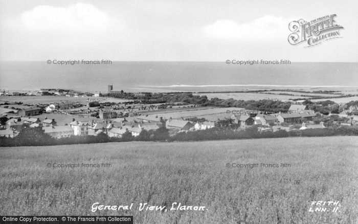 Photo of Llanon, General View c.1955